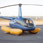 В продаже появилась система аварийного приводнения для вертолетов Robinson R66